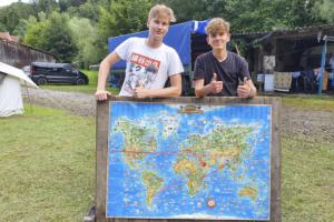 Pfadis reisen in 5 Tagen um die Welt